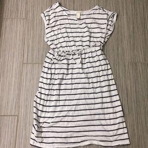 H&M Dresses - Striped maternity tee-shirt dress